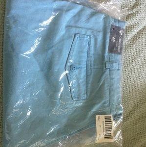NEW Mens Blue Cremieux Shorts SZ 38